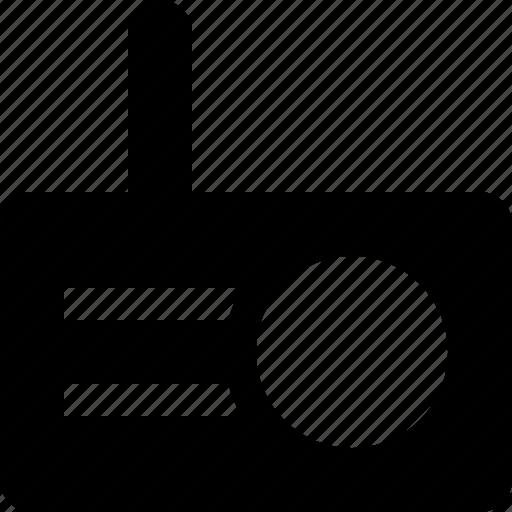 audio, music, radio, retro, song icon