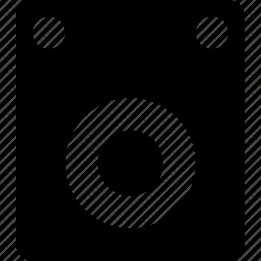 audio, music, play, sound, speaker, subwoofer icon