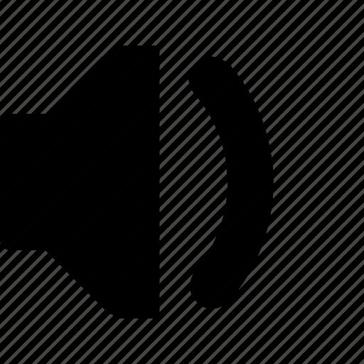 audio, low, music, sound, speaker icon