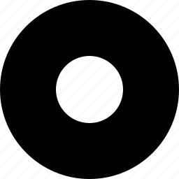 audio, circle, record, video icon