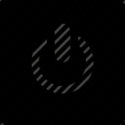 audio, power, square, video icon