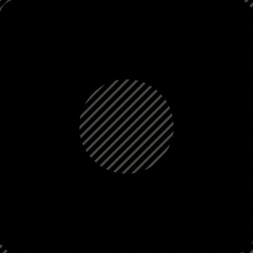 audio, record, square, video icon
