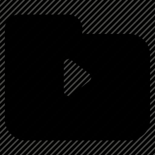 checklist, list, media, multimedia, playback, text, video icon