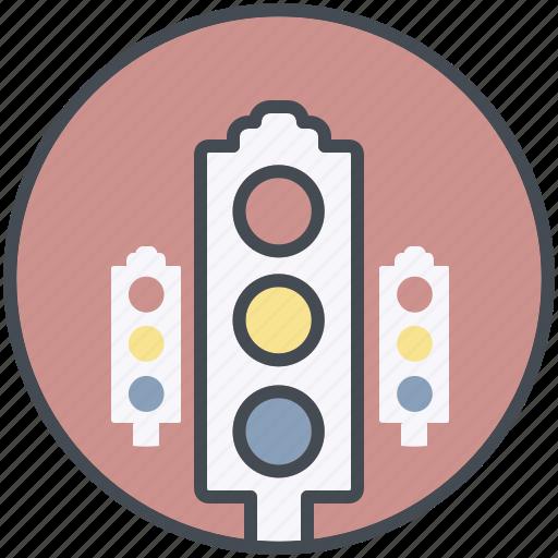 driving, light, traffic icon