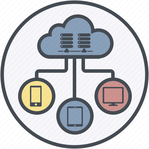 cloud, database, development, hosting, internet icon