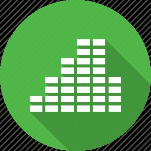 levels, sound, volume icon
