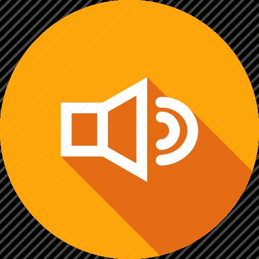 control, music, sound, up, volume icon