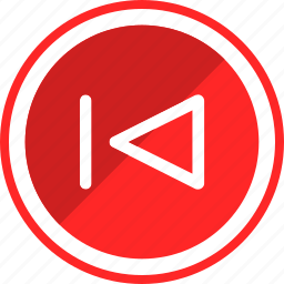 last, music, previous, rewind, song, sound, track icon