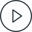 multimeda, play icon