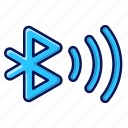 wireless, connection, ui, signal, bluetooth