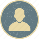 account, avatar, human, male, people, person, profile icon