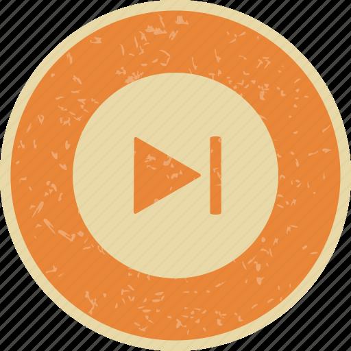 forward, music, next icon