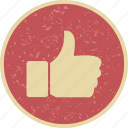 like, thumb up, thumbs up icon