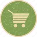 cart, delivery, shopping cart, trolley icon