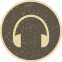 head phone, headphone, headphones icon