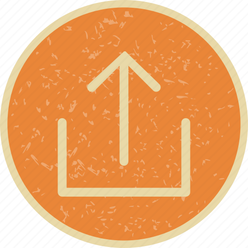 storage, up arrow, upload icon
