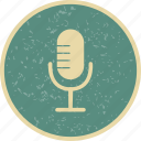 microphone, recording, voice recorder icon