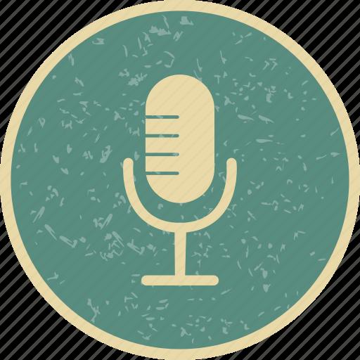 microphone, recording, voice recorder icon