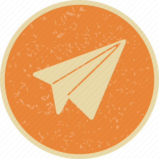 airplane, paper plane, plane icon