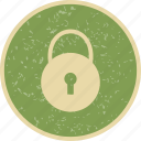lock, locked, pad lock icon
