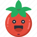 fruit, happy, salad, smiley, tomato, tomatoe icon