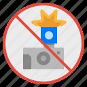 no, signaling, prohibit, photo, flash icon