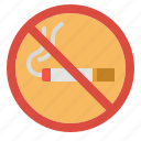 no, prohibit, signaling, smoking, smoke icon