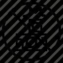 flash, no, photo, prohibit, signaling icon