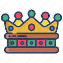 king, crown