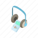 audio, audioguide, cartoon, guide, headphones, museum, tourist icon