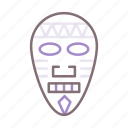 african, mask, museum, tribal