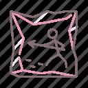 art, cave, design, graphic icon