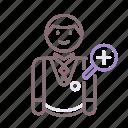 conservator, avatar, male, man icon