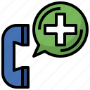 call, communications, emergency, phone, public, service, telephone icon