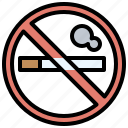cigarette, forbidden, no, signaling, smoke, smoking, warming