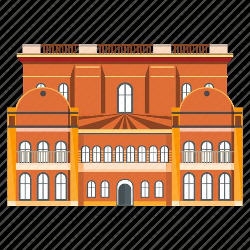 building, entertainment, museum icon