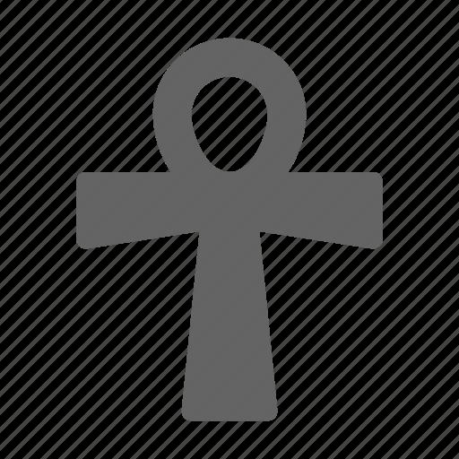 ancient, ankh, egypt icon