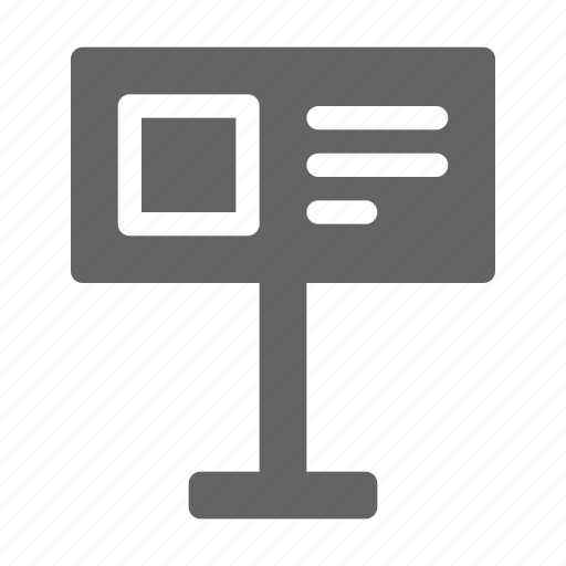 Guidepost, information, museum icon - Download on Iconfinder