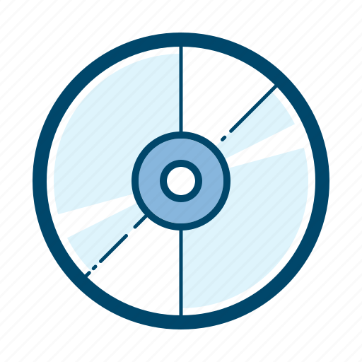 album, cd, compact, disc, media, record, storage icon