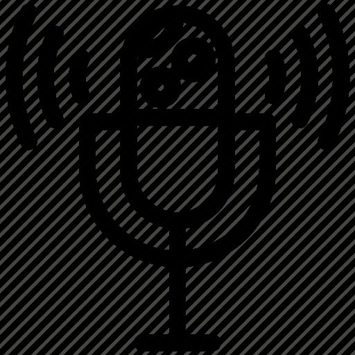 Podcast, radio, voice icon - Download on Iconfinder