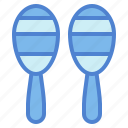 maraca, music, musical, orchestra icon
