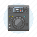 2, controller, dj, mixer, music, system, turntable icon