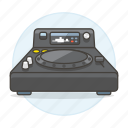 3, controller, dj, mixer, music, system, turntable icon