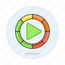 app, button, control, dial, music, play, player, software, volume, volumn icon