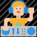 dj, music, party, sound