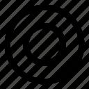 record, circle, music, regular, f