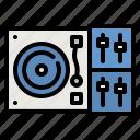 dj, mixer, music, multimedia, record