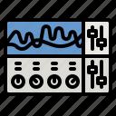 equalizer, music, sound, multimedia, audio