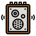 speaker, amplifier, audio, box, music