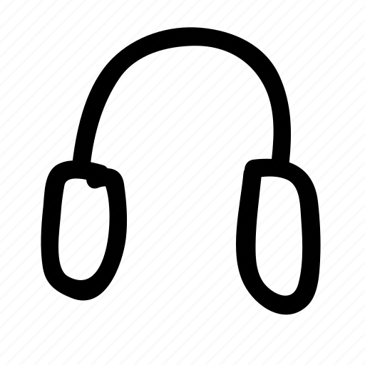 headphones, headset, media, music, playback, sound icon